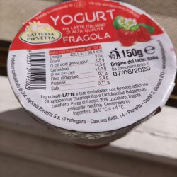 yogurt fragola - 150 g
