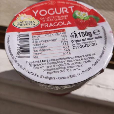 yogurt fragola - 150 g