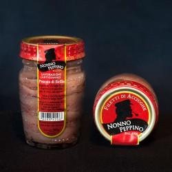 filetti di acciughe all'Olio d'oliva - 80 g