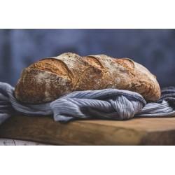 pane di farina tritordeum (semola di grano duro e orzo) di pasta madre