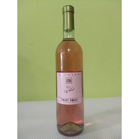pinot nero vinificato in rosa i.g.t. - bottiglia 0,75 l