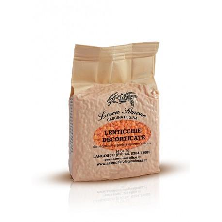 lenticchie rosse decorticate - (secco) - 500 g